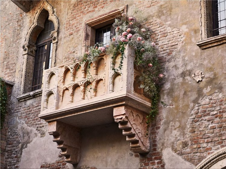 Romeo and Juliet's house in Verona