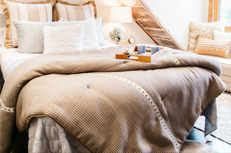 the right bedding for your bed