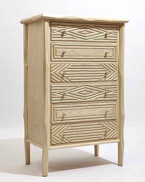 Paul Loebach, the Great Camp Collection, chest of drawers