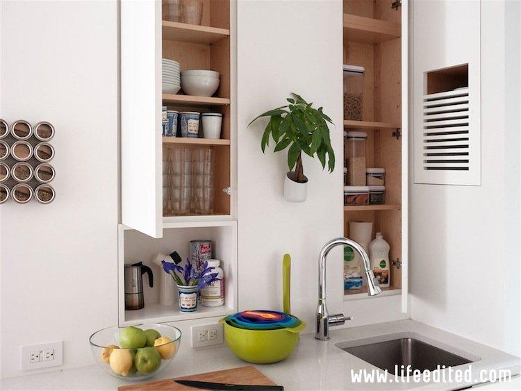 LE1: kitchen cabinets