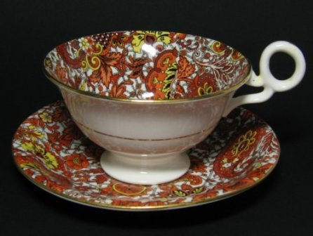 Tea cup and saucer from Radfords