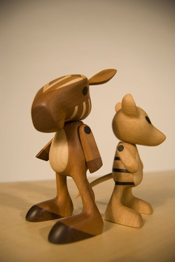 Josh Finkle, Extinct Toys, Quagga & Tasmanian Tiger
