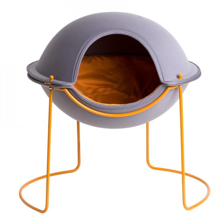 Hepper Pod Pet Bed - Graphite Grey