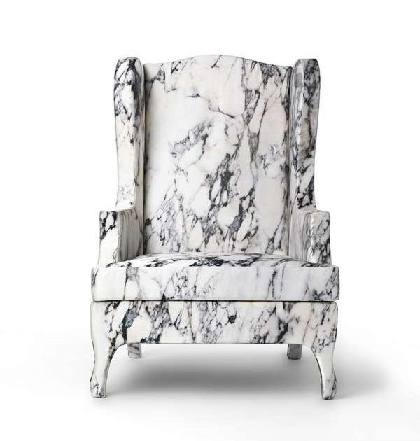 """Louis XV goes to Sparta"" armchair by Maurizio Galante and Tal Lancman for Cerru"