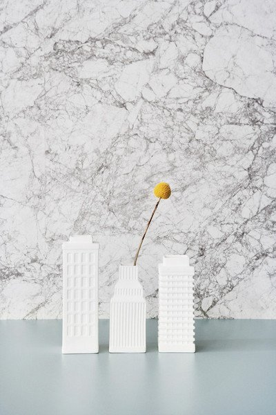 marble wallpaper from fermliving