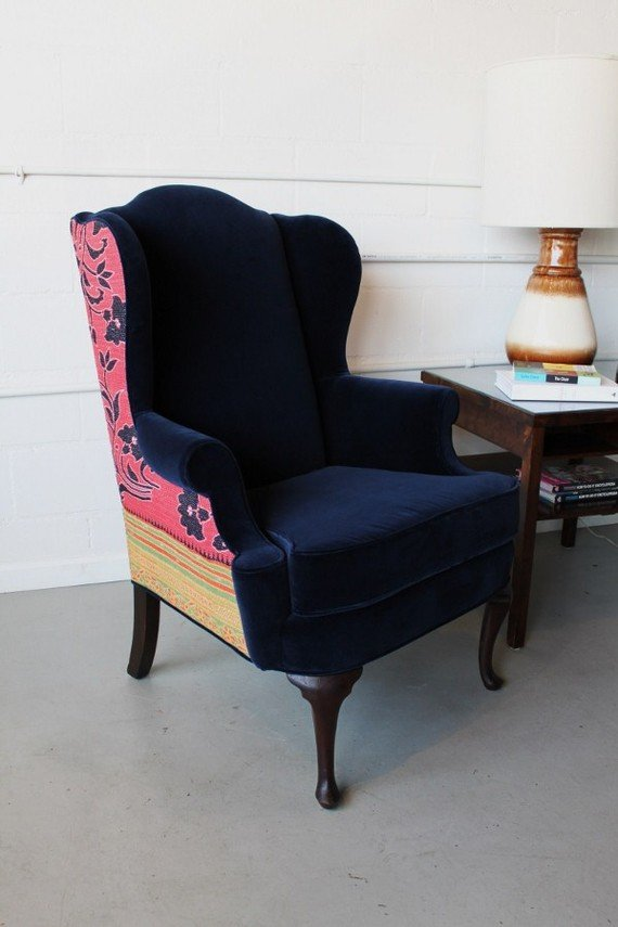 Midnight Jasmine Chair, $1,045.00 USD, SpruceHome