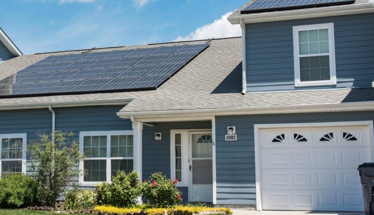 photovoltaic panels at home