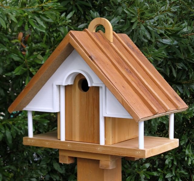 Richard T. Banks, Rustic Architectural Birdhouse