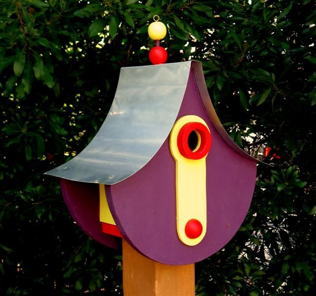 Richard T. Banks, Whimsical Architectural Birdhouse