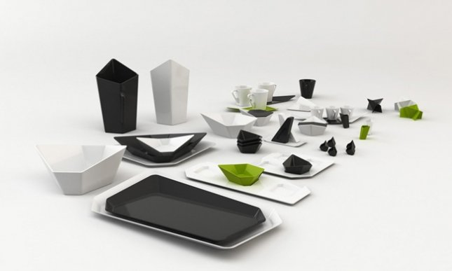 Swan Tableware Collection, Distance View