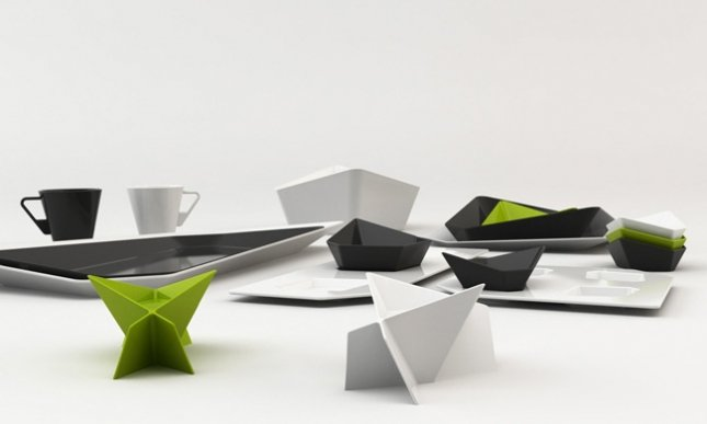 Swan Tableware Collection, Detail
