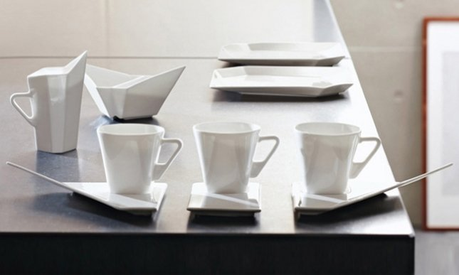Swan Tableware Collection, Tea Cups