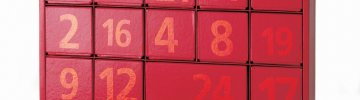 Advent Calendar Red