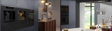 Black appliances that bring elegance and distinction