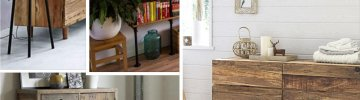 Recycled wood furniture: an easy eco-friendly home decor tip