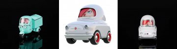 Rollis Toy Cars - cool design with their drivers packed right in