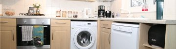 Advantages of installing an integrable washing machine in the kitchen