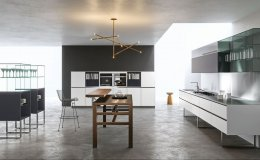 Sipario kitchen by Makio Hasuike for ARAN Cucine