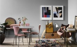 Fine pink passion: interiors and decorations to inspire