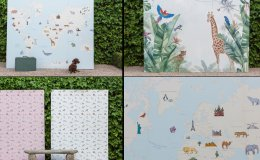 Kid's rooms full of fantasy, color and design with the murals of Barbara Chapartegui