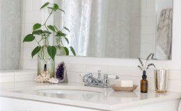 6 ideas to create a minimalist atmosphere in the bathroom